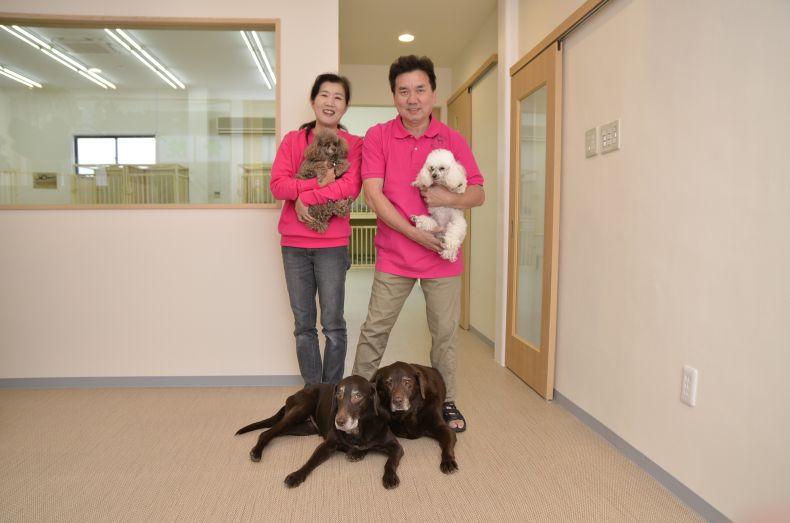 老犬介護ホームメロー介護士